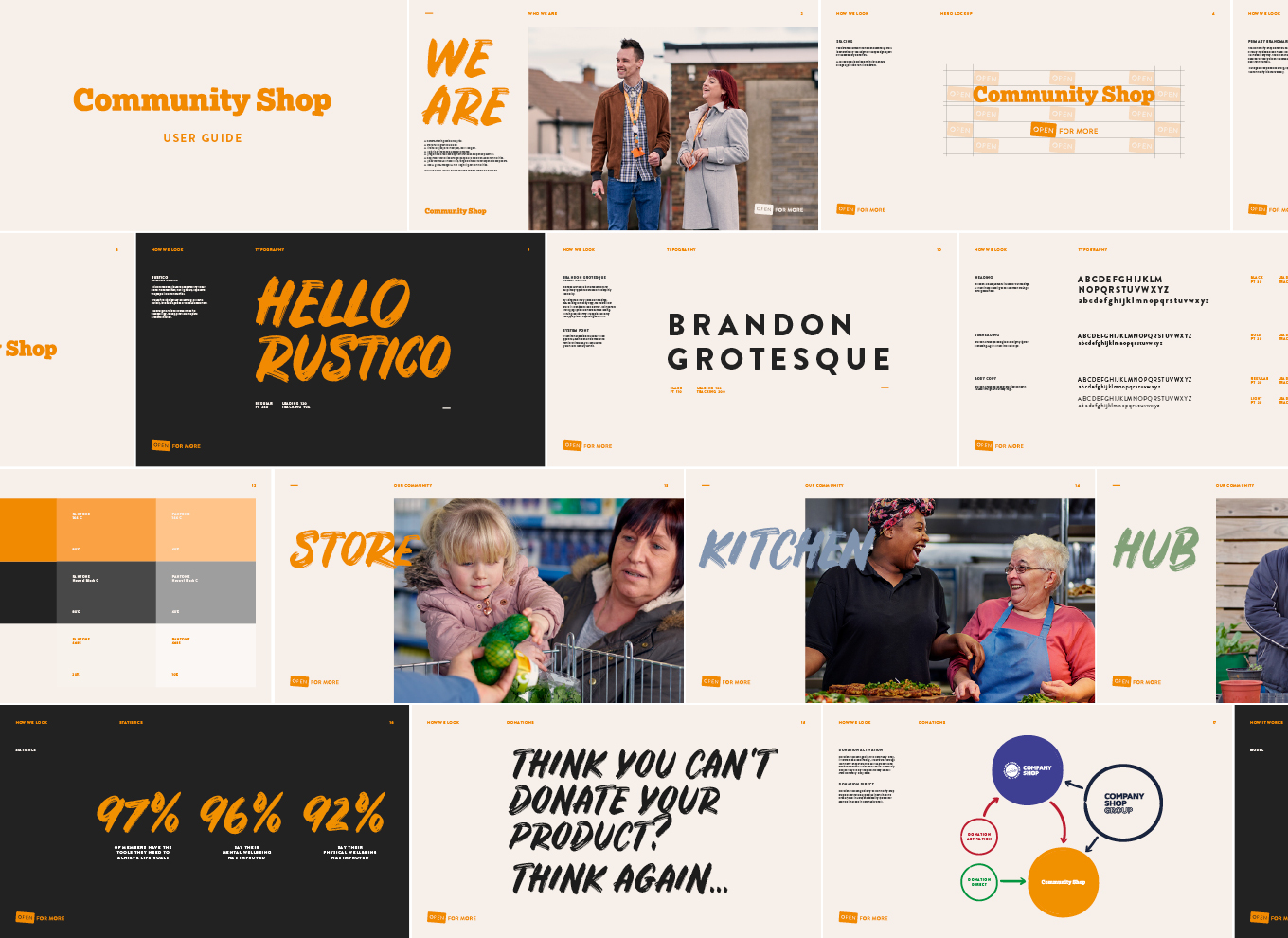 Community Shop Brand Guidelines