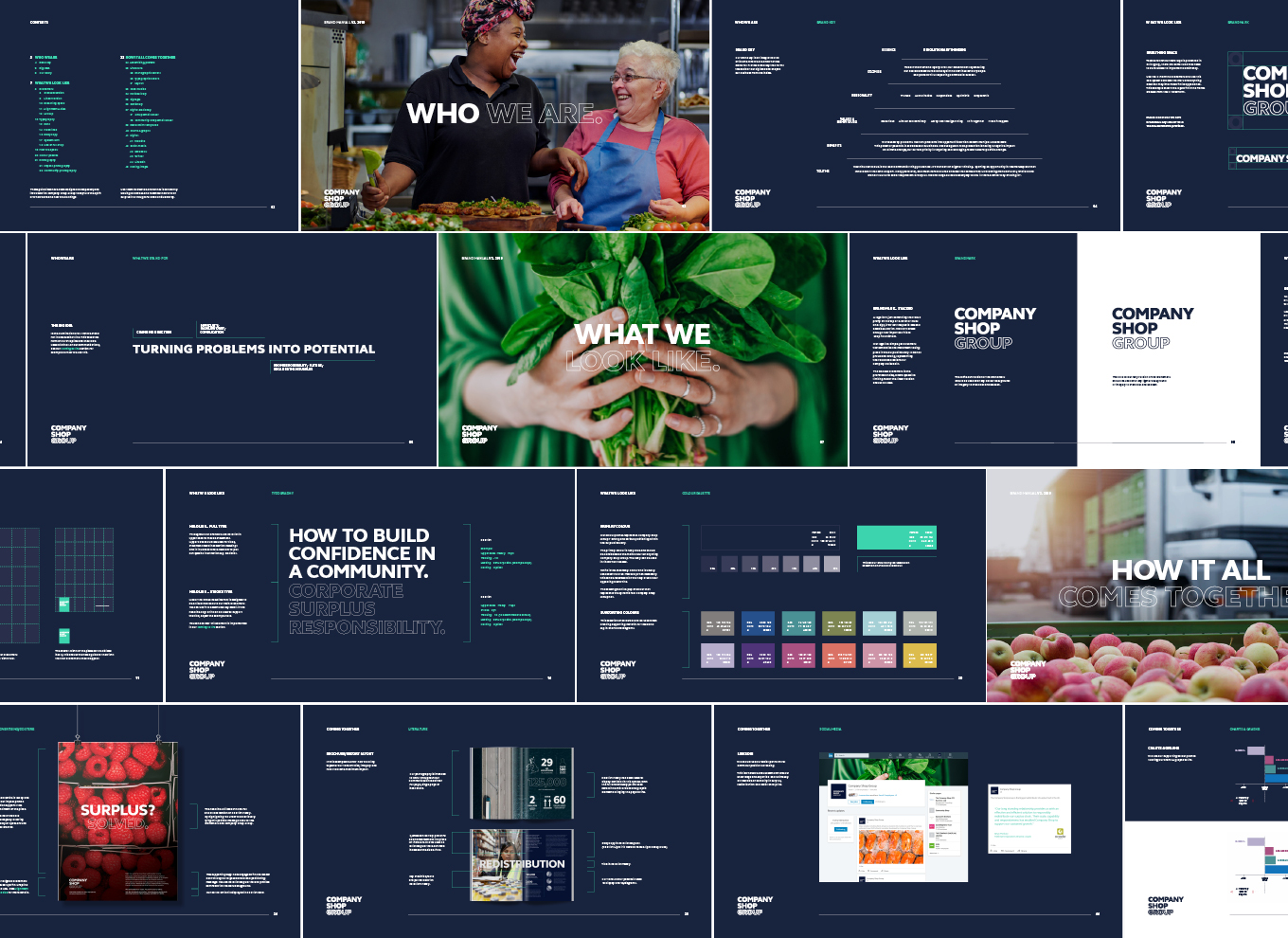 Company Shop Group Brand Guidelines