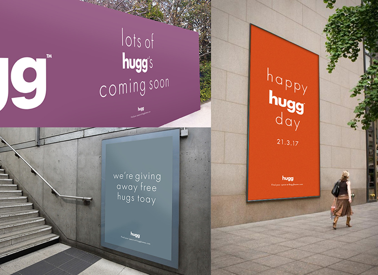 Hugg Homes Advertising