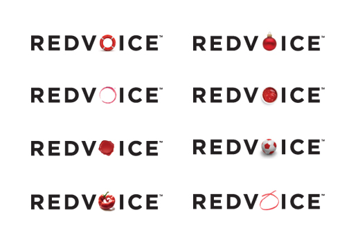 Redvoice brand creation by 10 Associates