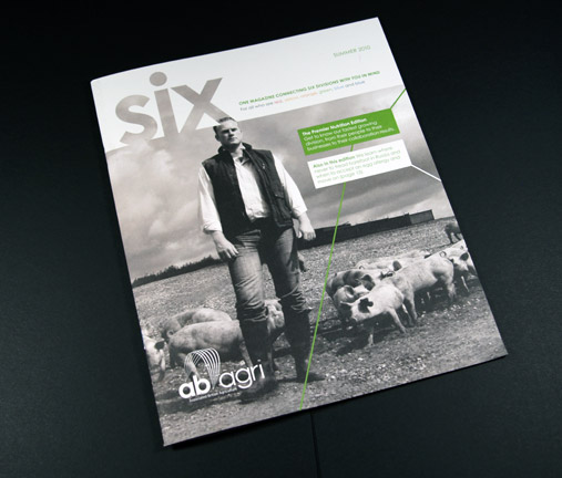 Issue two of Six magazine