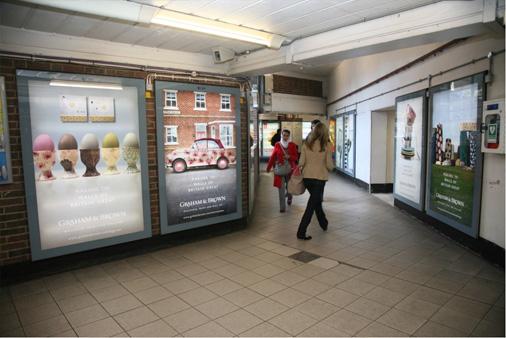Making The Walls Of Britain Great advertising around 100% Design, London