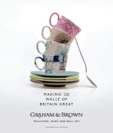 Making the walls of Britain great by Graham & Brown