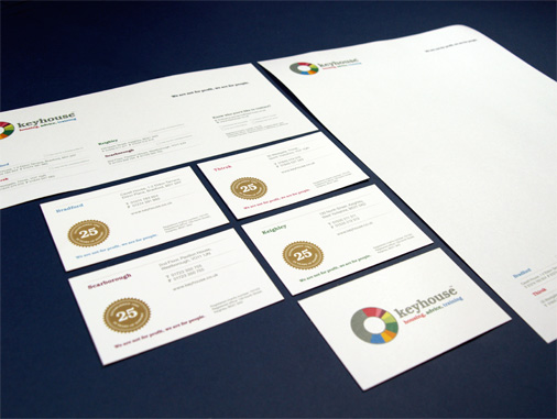 Keyhouse printed stationery