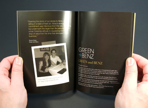Nicky Pattinson book by 10 Associates