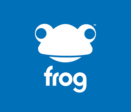 Frogtrade logo designed by 10 Associates