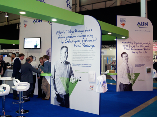 ABN Exhibition Stand at the Pig & Poultry Fair