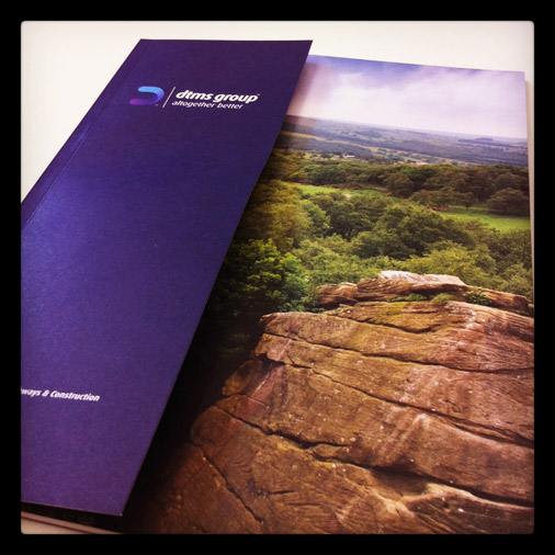 DTMS Brochure created by 10 Associates