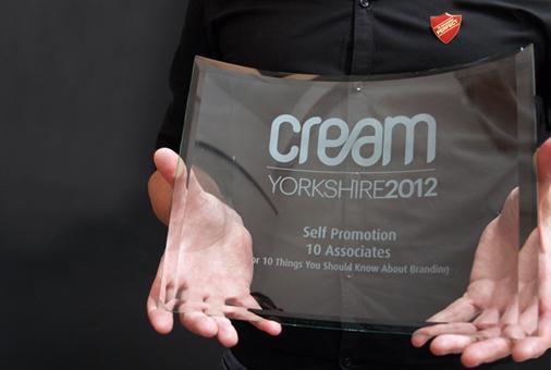 Cream Yorkshire Award 2012 for 10 Associates