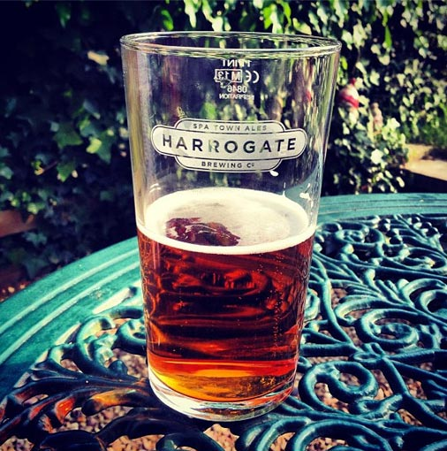 Harrogate Brewing Company Glass