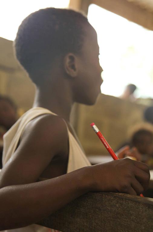 Sarah Ghana Classroom