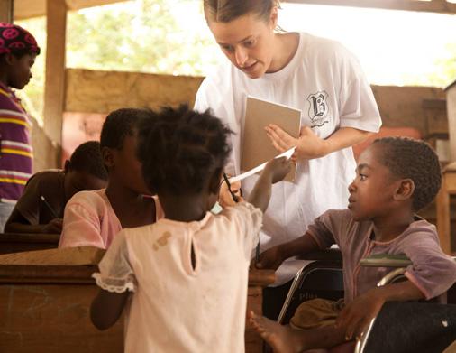 Sarah Ghana Trip teaching