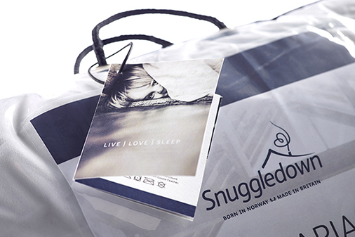 10 Associates - Snuggledown Packaging