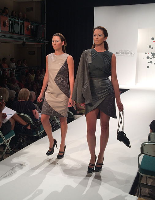 Huddersfield University Graduate Fashion Show 2015