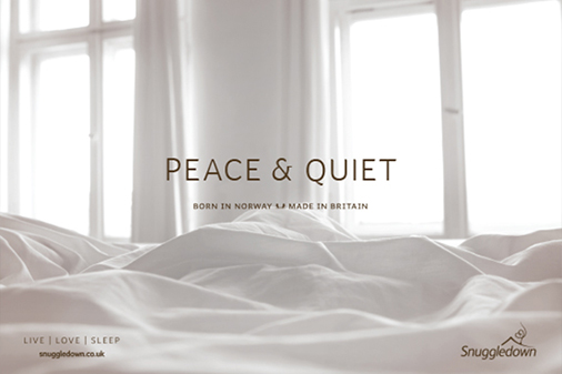 Peace and quiet with Snuggledown