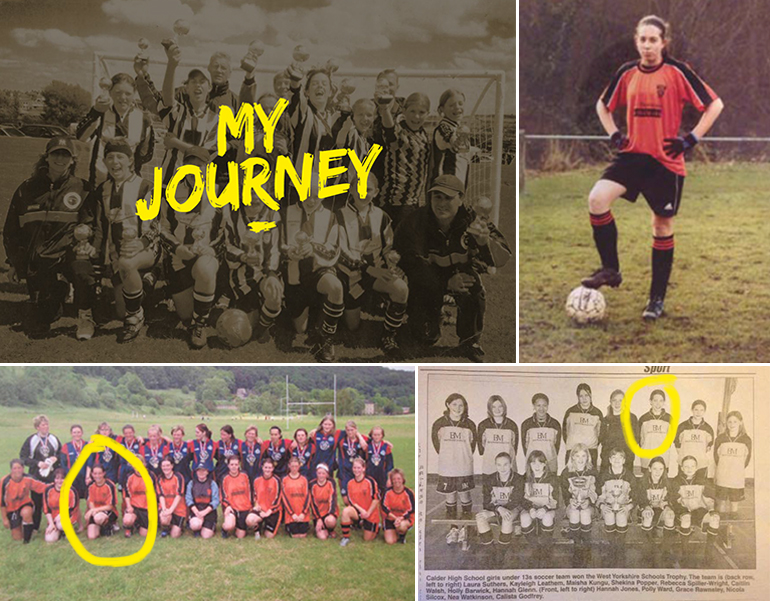 Women's football - my journey 1
