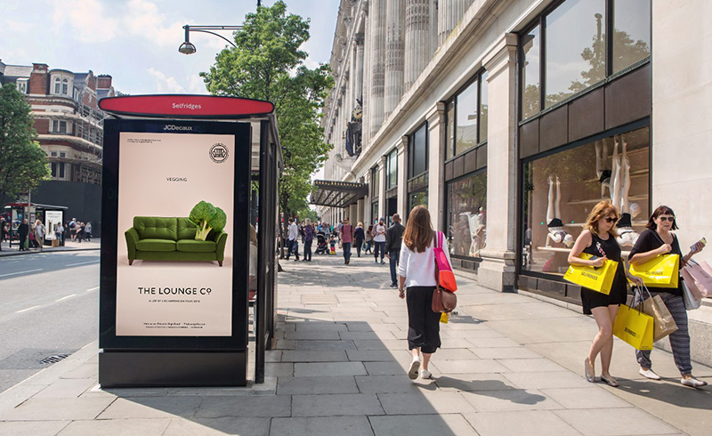 Advertising campaign for Lounge Co
