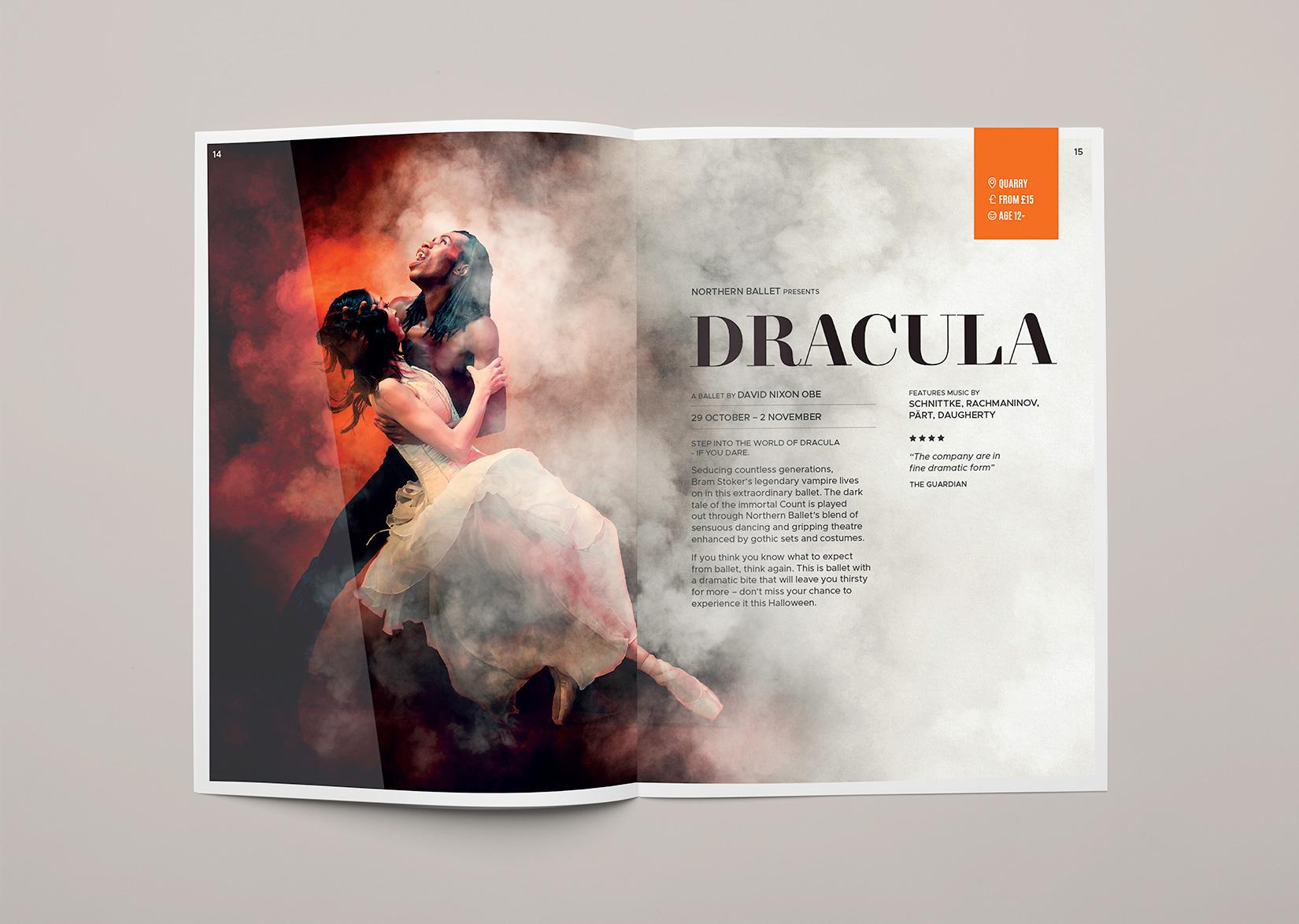 Leeds Playhouse Northern Ballet Dracula
