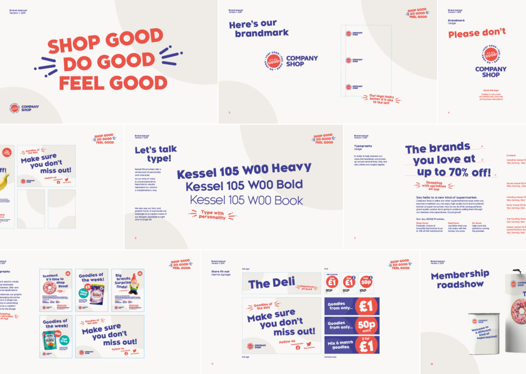 Company Shop Stores Brand Guidelines
