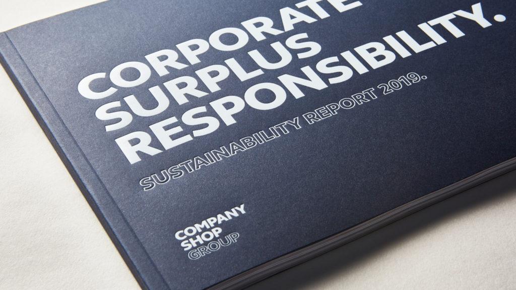 Company Shop Group CSR Report