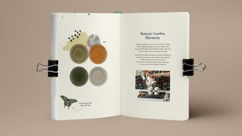 Portmeirion Brochure Botanic Garden Harmony